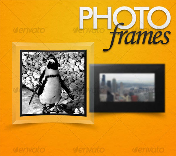 Photo Frames PSD Design