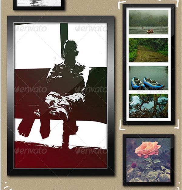 Photo Poster Frame Mockup