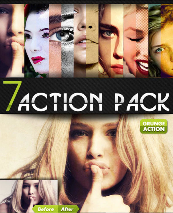 Photoshop Action Pack