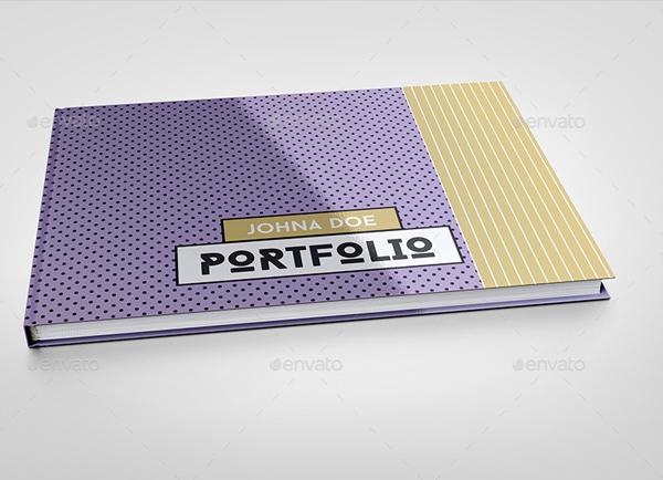 Pop Art Portfolio Brochure Template