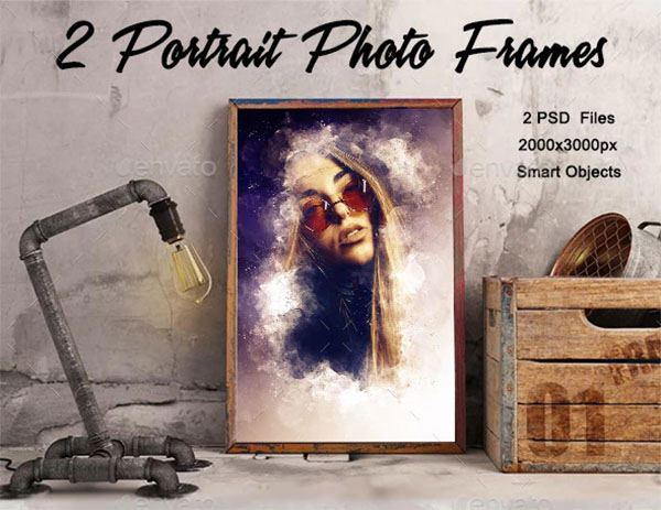 Portrait Photo Frames