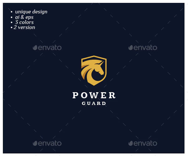 Power Guard Logo Designs