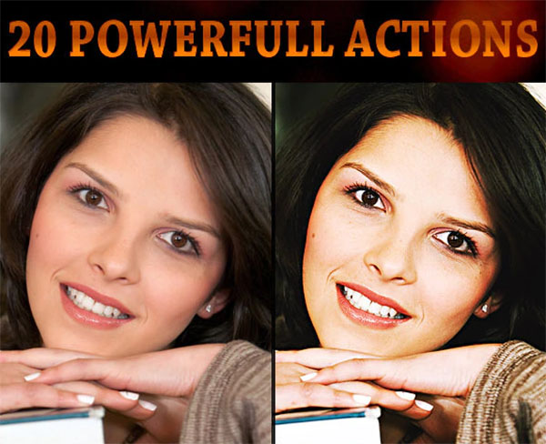 Powerfull PSD Actions