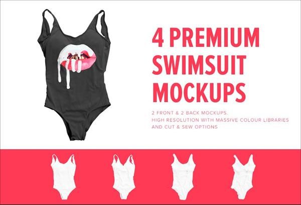 Premium Swimsuit Mockups