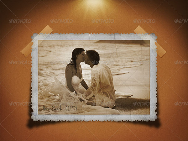 Premium Vintage Photo Frame Design