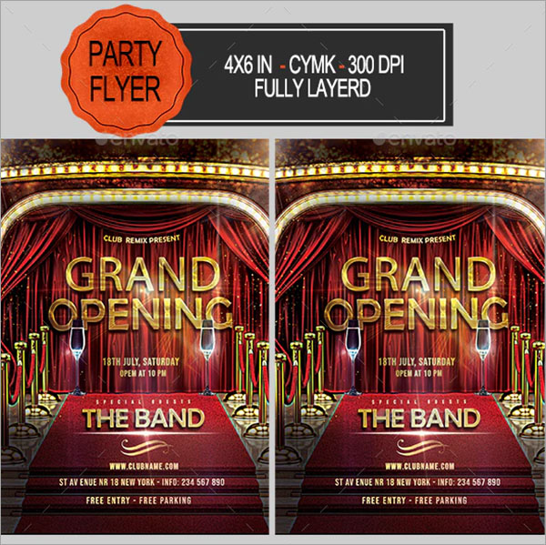 Printable Grand Opening Flyer