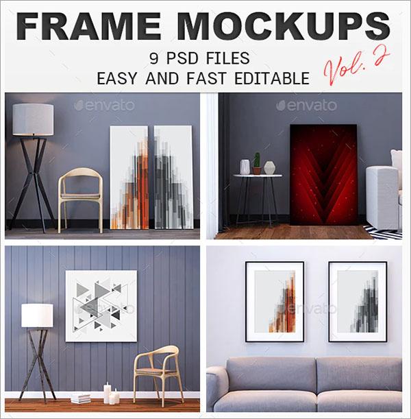 Printable Photo Frame Mockups