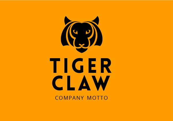 Printable Tiger Logo Designs