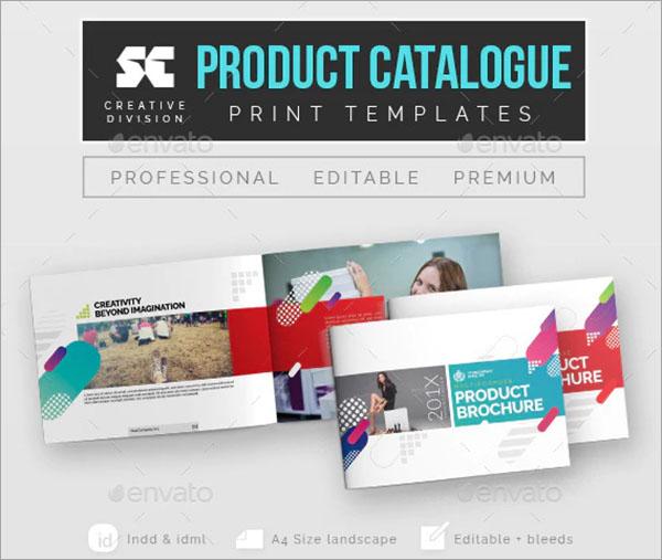 Product Catalogue Print Templates