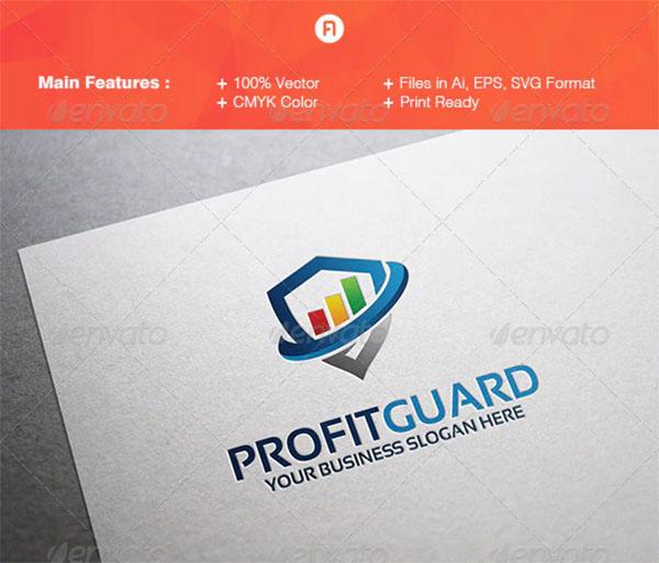 Profit Guard Logo Template