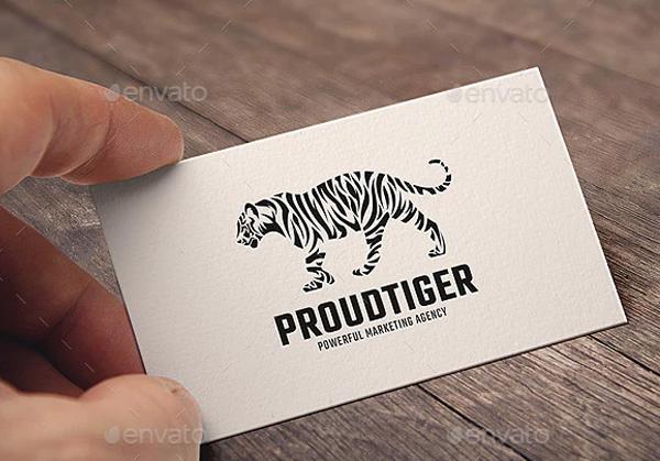 Proud Tiger Logo Template