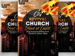 Best Revival Flyer Templates