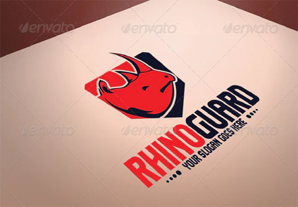 Rhino Guard Logo Design