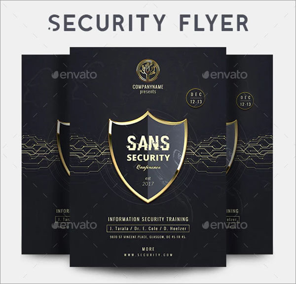 SANS Security Flyer
