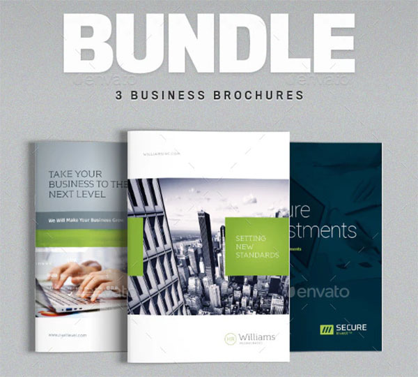 Security Business Brochure Bundle