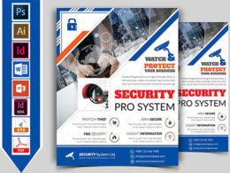 Security Flyer Templates