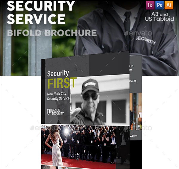 Security Guard Service Bifold Template