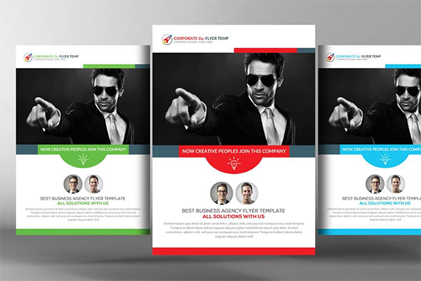 Security Services Flyer Template