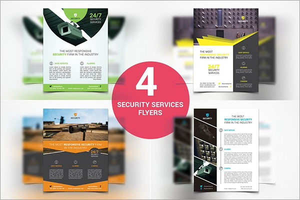 Security Services PSD Flyers