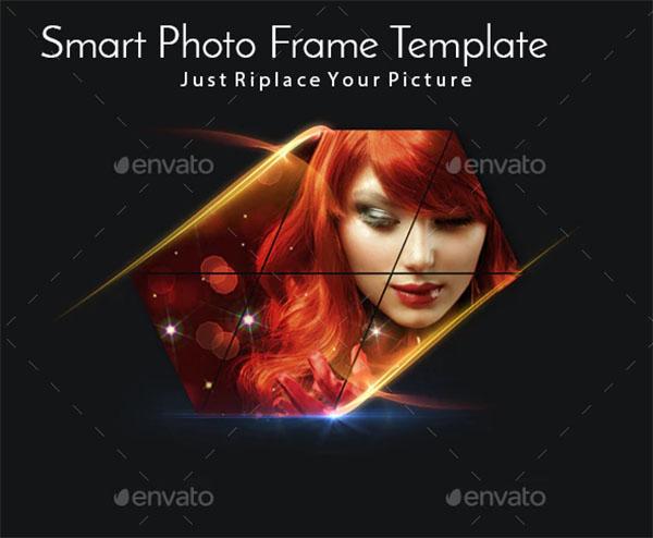 Smart Photo Frame Template