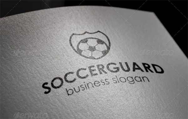 Soccer Protection Guard Logo