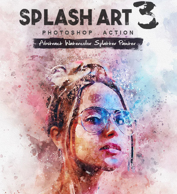 Splash Art 3 Photoshop Action