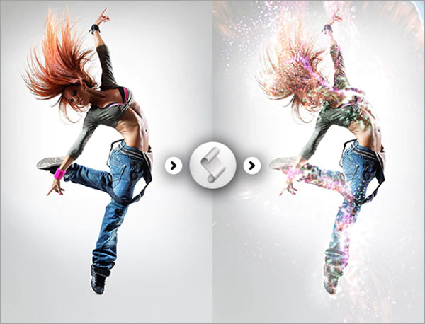 Splash Effect Photoshop Action