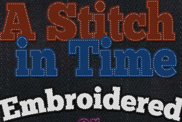 Stitches and Embroidery Layer Style