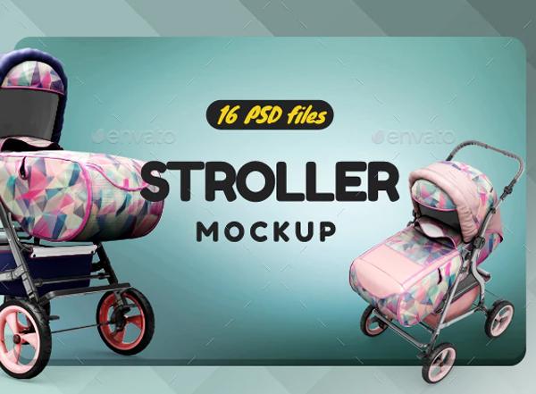 Stroller Mockups