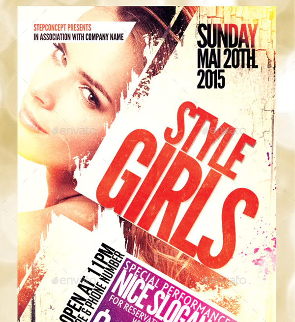 Style Girls Flyer Template