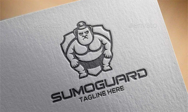 Sumo Guard Logo Template