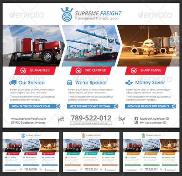 Supreme Transportation Corporate Flyer