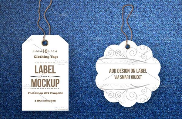 Tags and Labels Mockups Bundle