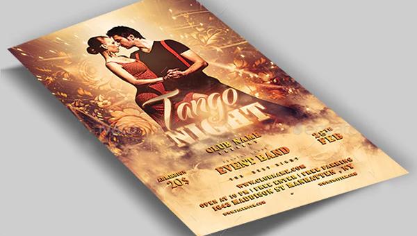Tango Flyer Templates
