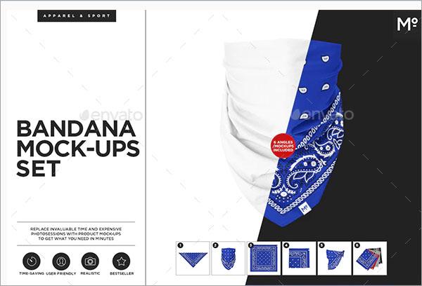 The Bandana Mock-ups Set