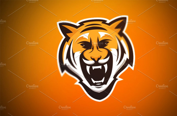 Tiger-Sports-Logo-Designs