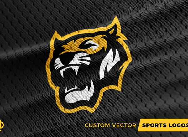 Tigers Custom Sports Logo