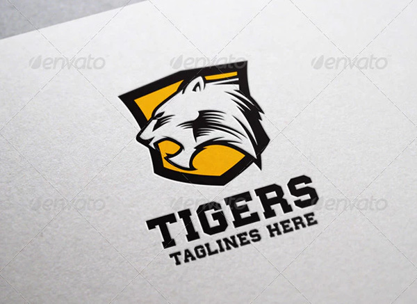 Tigers Logo Template