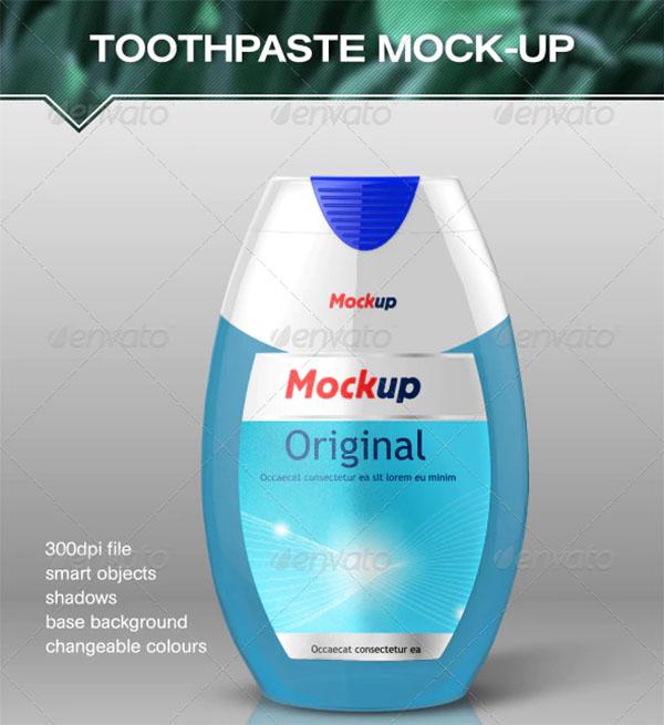 Toothgel Mock-Up