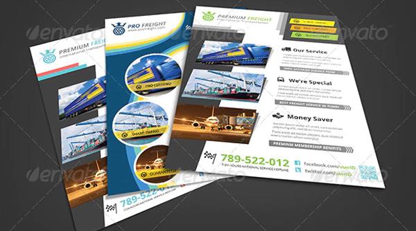 Transport Service Flyers Bundle
