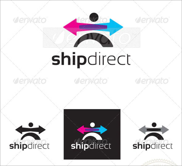 Transportation Shipdirect Logo