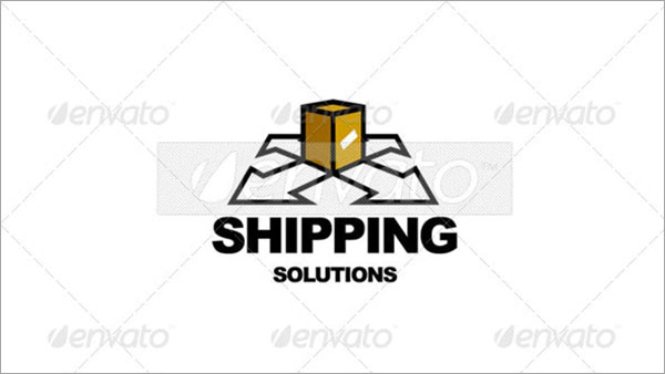 Transportation Shipping Logo
