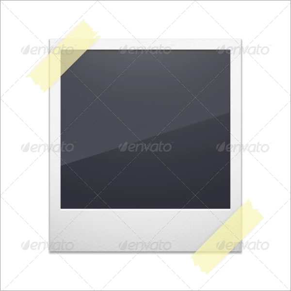 Vector Photo Frame Template