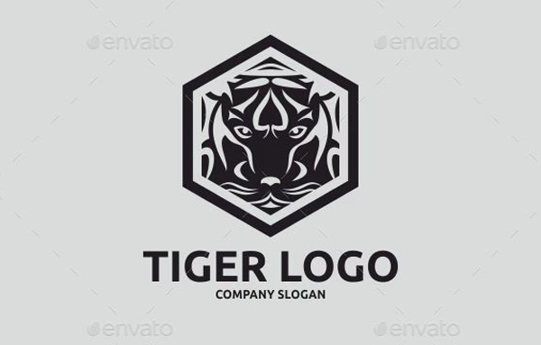 Vector Tiger Logo Design Template