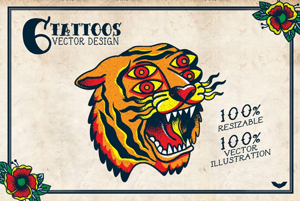 Vector Tiger Logo Design