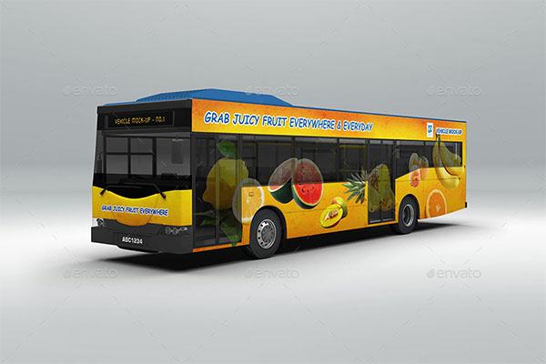 Vehicle Mock-up PSD Design