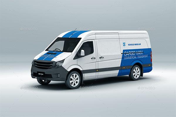 Vehicle Mock-up PSD