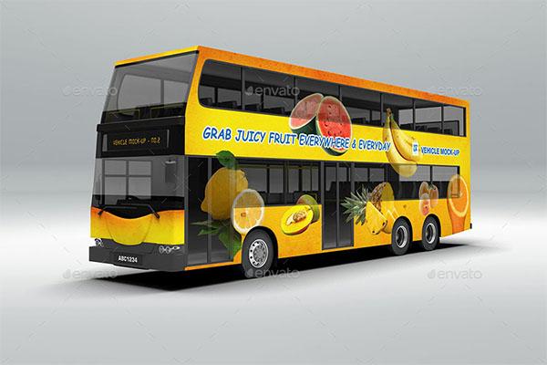Vehicle PSD Mockup Design