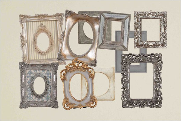 Vintage Photo Frame Template