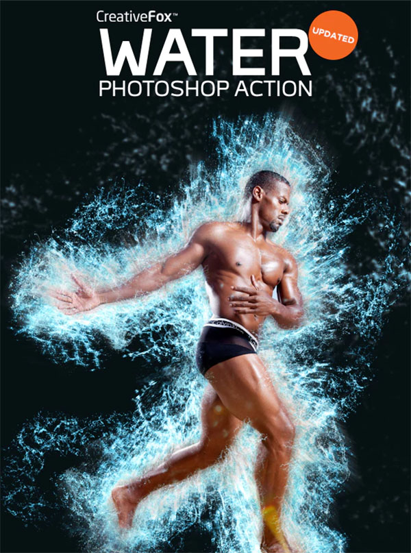 Water Splash Effect Photoshop Action